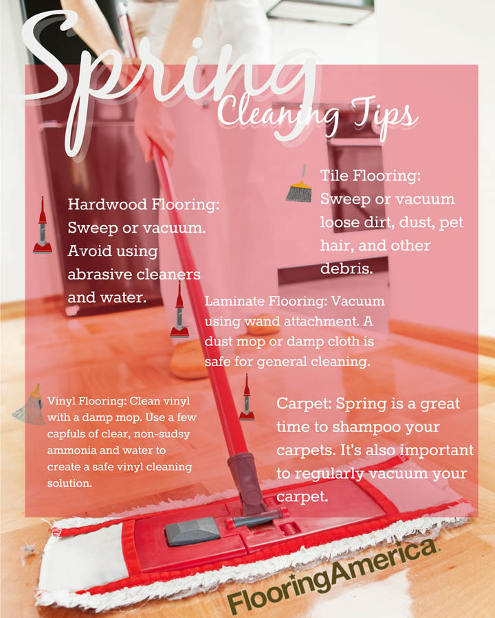 Spring Cleaning Tips to Keep Your Floors Beautiful